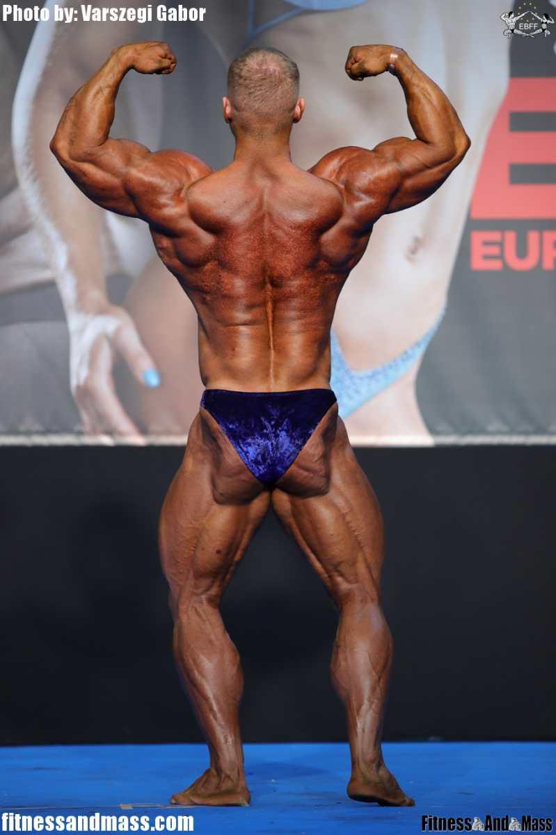 2018 IFBB European Championships бодибилдинг hardmuscles.ru Никита Луковников