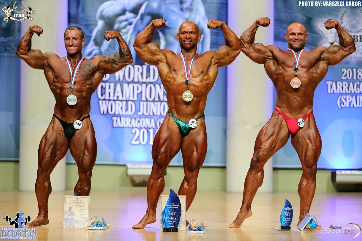 2018 IFBB World Master Championships — сборная России, результаты второго дня