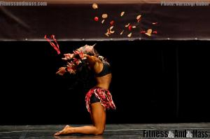 IFBB World Fitness Championships Michaela Pavleova Fitness Routine
