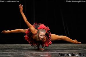 IFBB World Fitness Championships Karin Suchomelova Fitness Routine