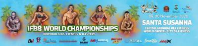 2020 Ifbb World Bodybuilding & Fitness & Master Championships