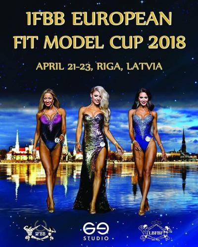 2018 IFBB EUROPEAN FIT MODEL CUP
