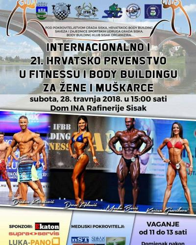International Croatian Bodybuilding & Fitness Championships 2018