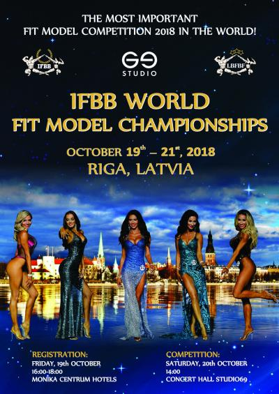 IFBB World Fit Model Championships 2018