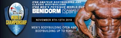 Benidorm IFBB Men's World Championships 2018