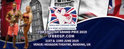 2019 IFBB ENGLISH GRAND PRIX INTERNATIONAL